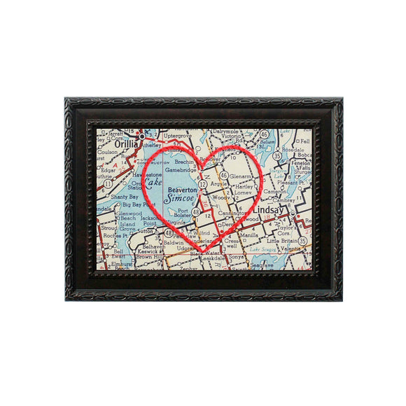Beaverton Heart Map