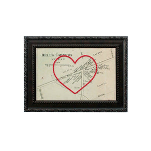 Bell's Corners Heart Map