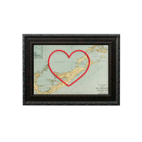 Bermuda Heart Map