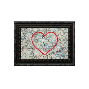Bon Echo Park Heart Map