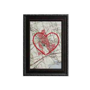 Bowmanville Heart Map