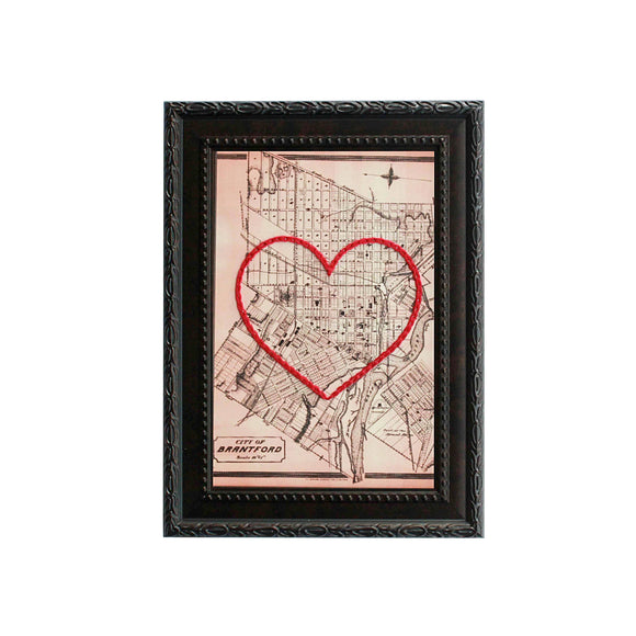 Brantford Heart Map
