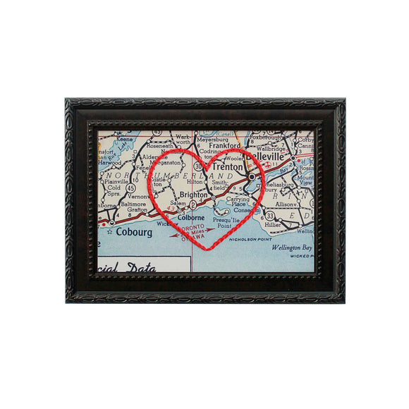 Brighton, Ontario Heart Map