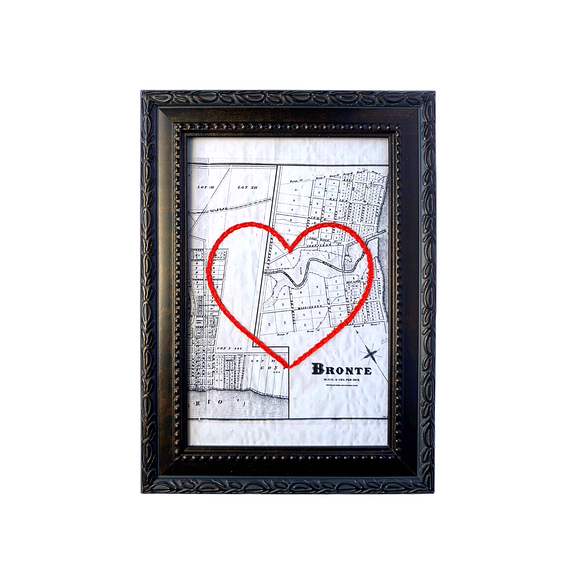 Bronte Heart Map