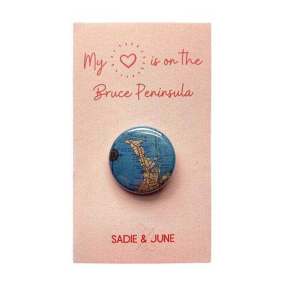 Bruce Peninsula Pinback Button