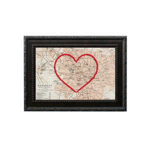 Bucharest Heart Map