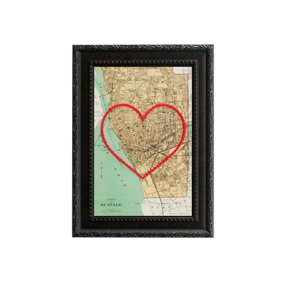 Buffalo Heart Map