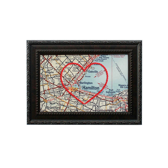 Burlington Heart Map