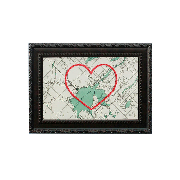 Calabogie Heart Map