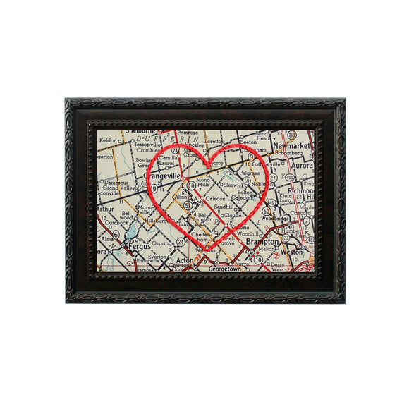 Caledon Heart Map