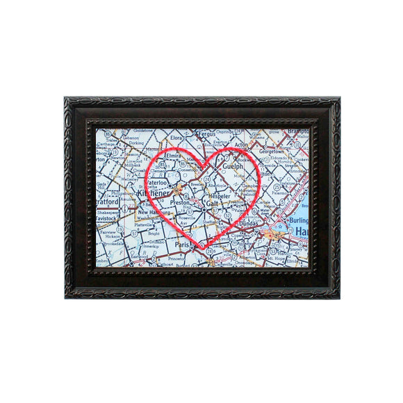 Cambridge, ON Heart Map