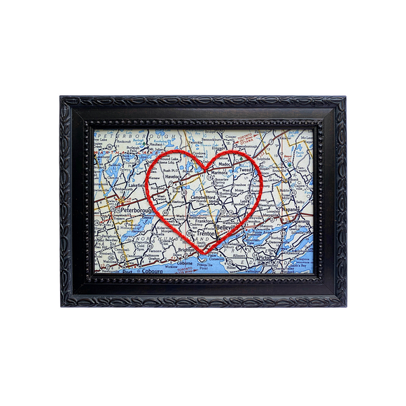 Campbellford Heart Map