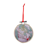 Canada Map Ornament
