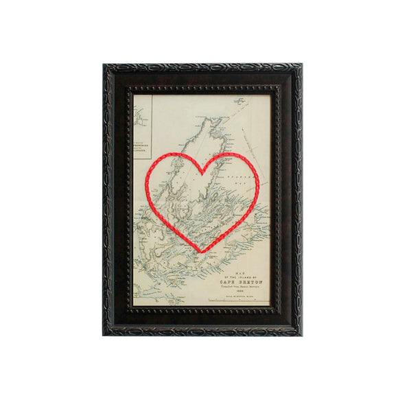 Cape Breton Heart Map