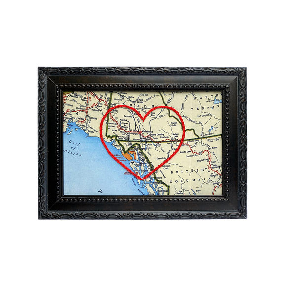 Carcross Heart Map