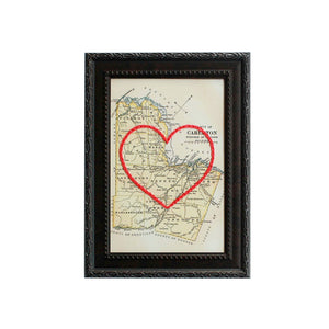 Carleton County Heart Map