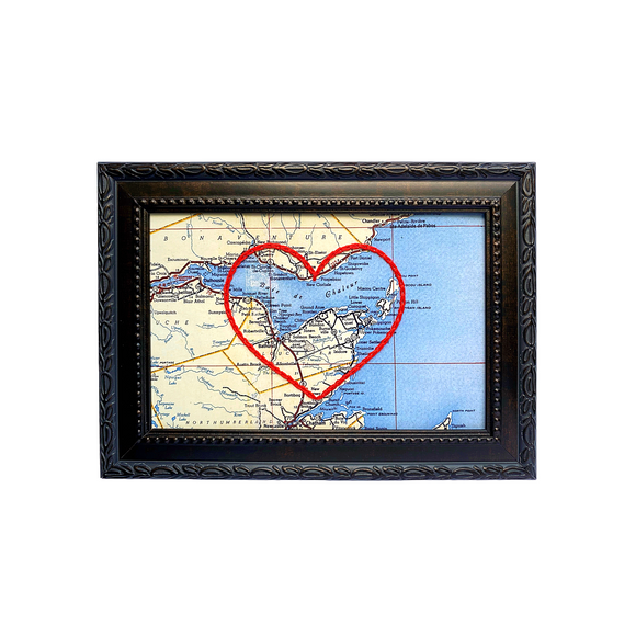 Bathurst, NB Heart Map
