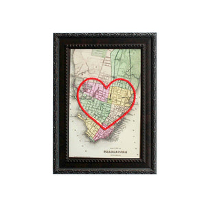 Charleston Heart Map