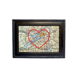 Chateauguay Heart Map