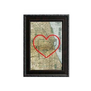 Chicago Heart Map