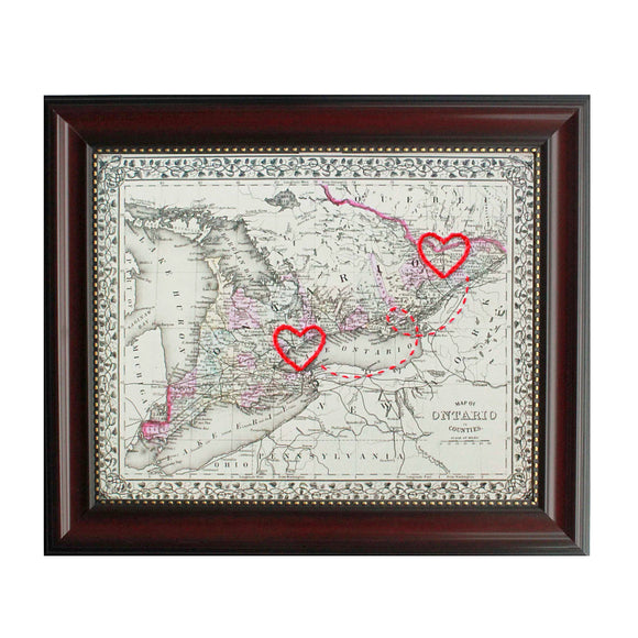 Connecting Hearts Ontario Map