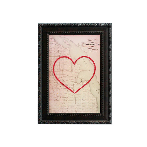 Constance Bay Heart Map