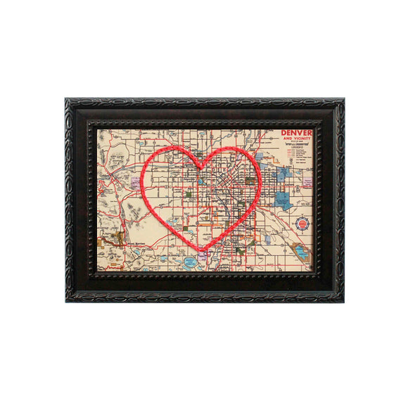 Denver Heart Map