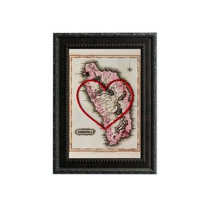 Dominica Heart Map