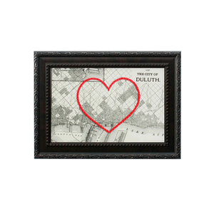 Duluth Heart Map