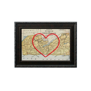 Durham & Northumberland County Heart Map