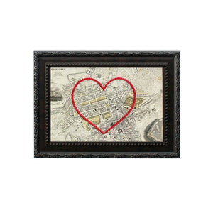 Edinburgh Heart Map