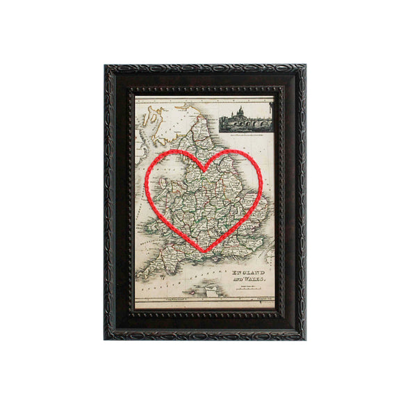 England and Wales Heart Map