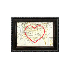Essex County Heart Map