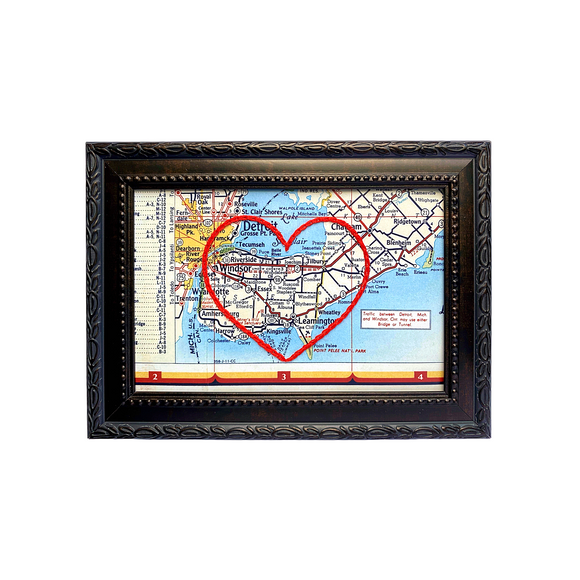 Essex, ON Heart Map