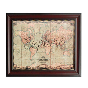 """Explore"" World Map"