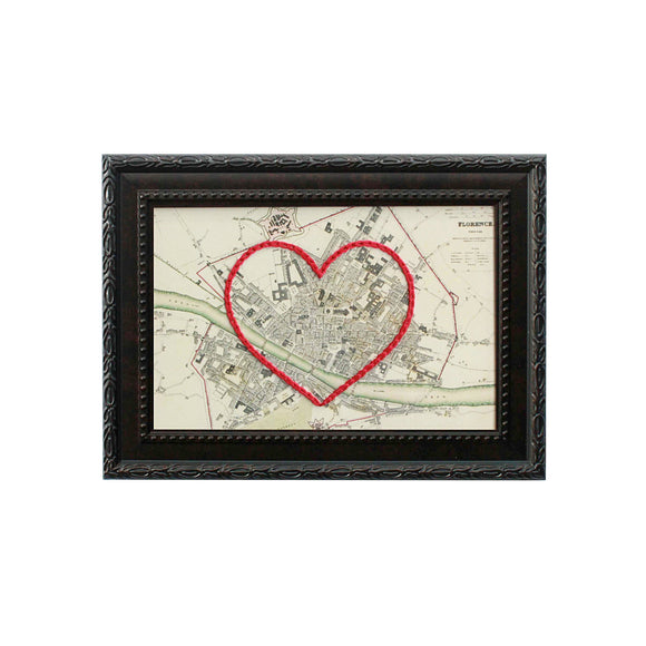 Florence Heart Map