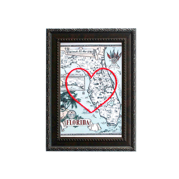 Florida Heart Map