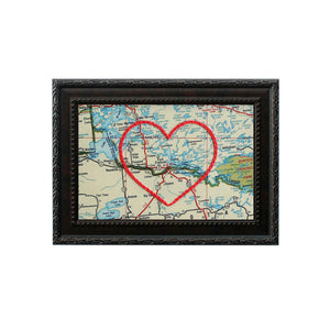 Fort Frances Heart Map