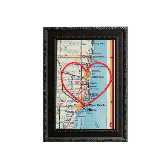 Fort Lauderdale Heart Map