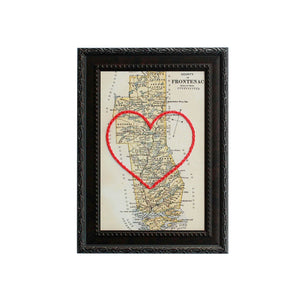Frontenac County Heart Map