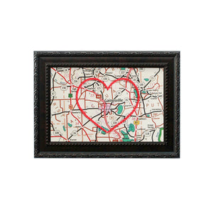 Gainesville Heart Map