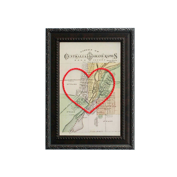 Grand Rapids Heart Map