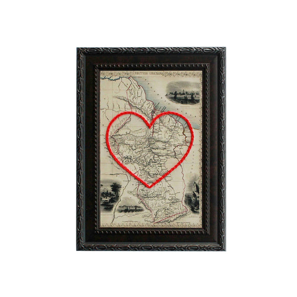 Guyana Heart Map