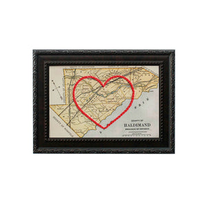 Haldimand County Heart Map