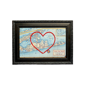 The Hamptons Heart Map