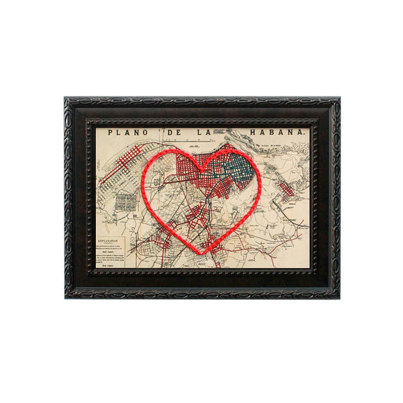 Havana Heart Map