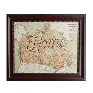 """Home"" Canada Map"