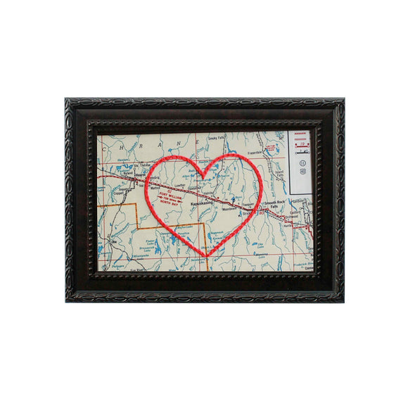 Kapuskasing Heart Map