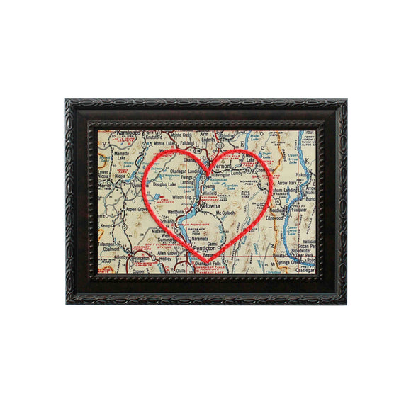 Kelowna Heart Map
