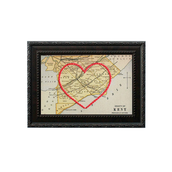 Kent County Heart Map